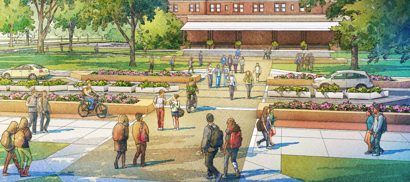 Bigelow Boulevard Improvement Rendering